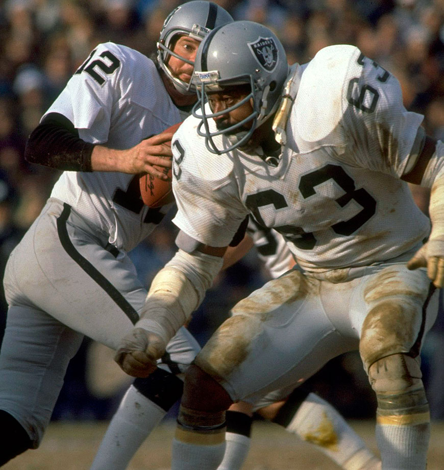 The Raiders drafted Upshaw out of Texas A&M–Kingsville for one reason: to block Kansas City's Buck Buchanan. Over the next 15 seasons, he blocked Buchanan and just about everybody else. The left side of Upshaw and tackle Art Shell might be the best in NFL history, and Upshaw himself was named to seven Pro Bowls and five first-team All-Pro teams.