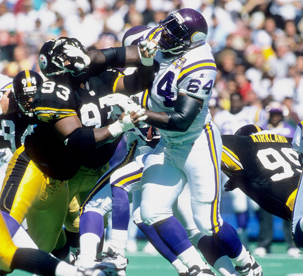 McDaniel started 202 straight games in his career and was named to 12 straight Pro Bowl teams, an NFL record. Perhaps his most notable achievement was his role in the 1998 Vikings offense that set a record with 556 points. In that season, McDaniel allowed 1.5 sacks all season, while clearing the way for a 5.4 yards per carry average to his side. He was also the first guard in modern Pro Bowl history to catch a touchdown pass.
