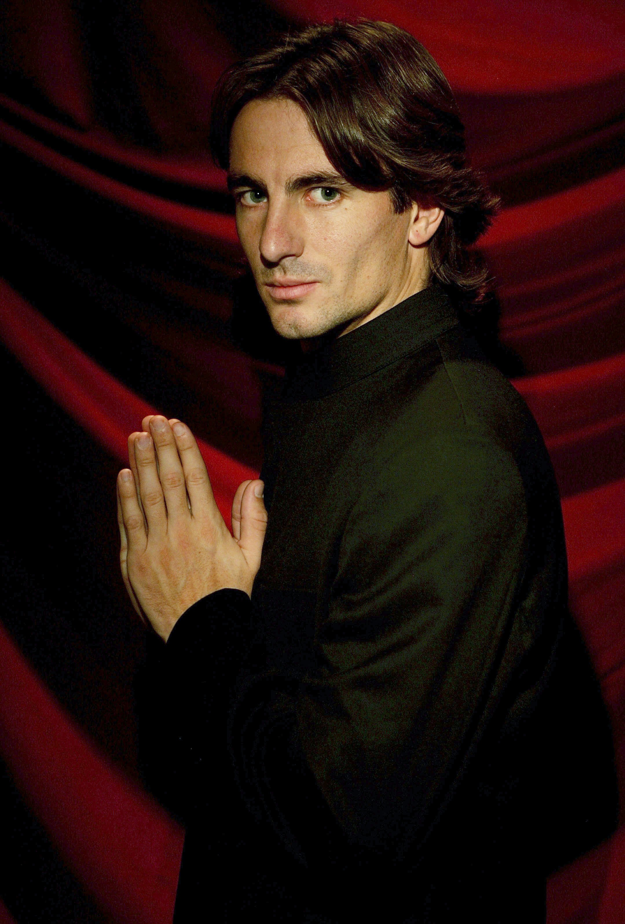 Tommy Robredo poses for a portrait before the opening ceremony.