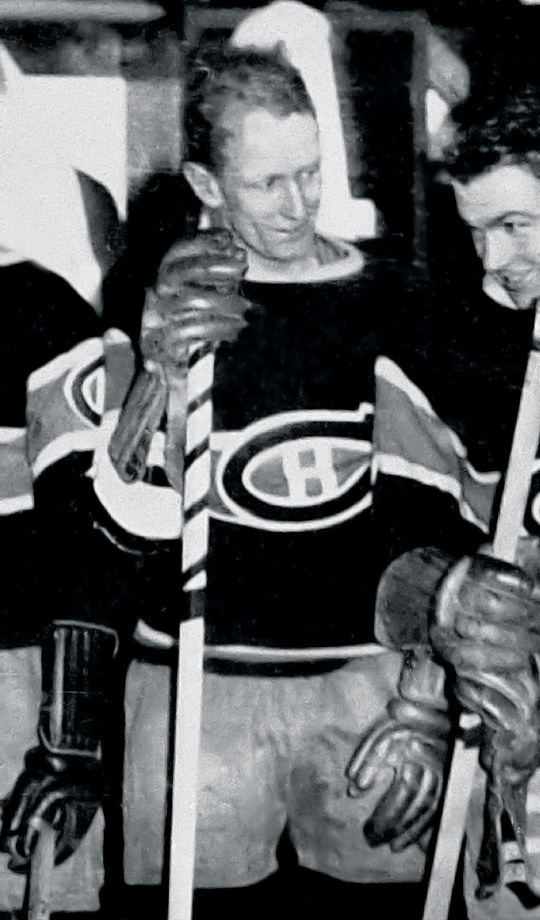 Hard to believe the Habs let him wear this way back in 1934-35, but he rewarded them with 20 goals in just 33 games.