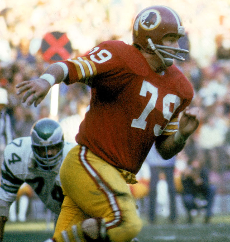 "The AFL was known as an offensive league, but it had some great defenses as well, and few were better than the Bills defenses of the mid-1960s. McDole was a major part of that, as he was a big cog in the ""Over-the-Hill Gang"" defenses assembled by George Allen for the Washington Redskins in the 1970s. McDole finished his career with 12 interceptions, the most ever for a defensive lineman."