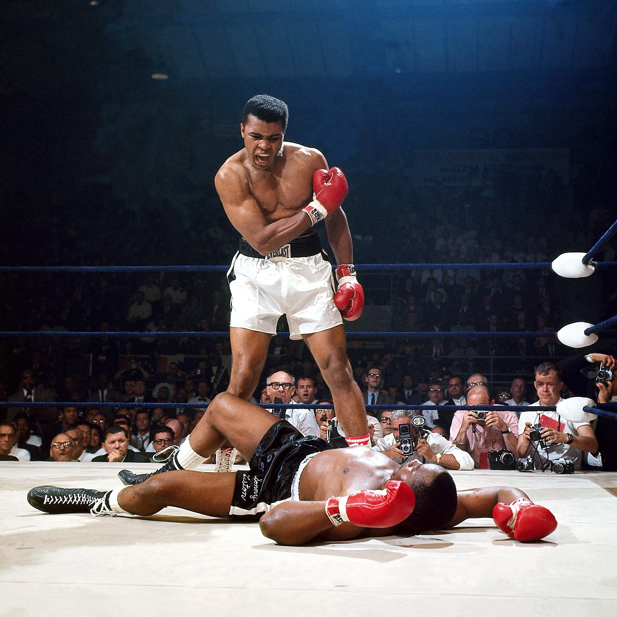 May 25, 1965 | In their heavyweight title rematch Ali defeated Liston by knockout in the first round. Ali would hold the heavyweight title until 1967, when he was stripped of it for refusing to be drafted into the Army.