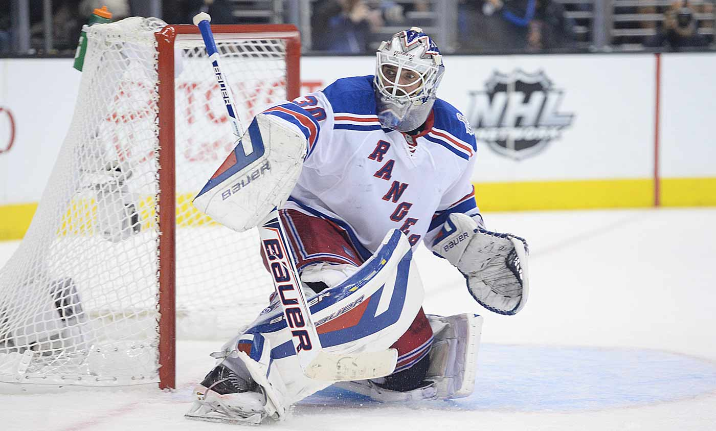 The only goalie in NHL history to win at least 30 games in his first seven seasons, King Henrik has become the toast of New York while setting Rangers club records for wins during the regular season (309) and playoffs (43). He led the team to the Stanley Cup Final in 2014 and backstopped Sweden to the silver medal at the Sochi Olympics, adding to the gold medal he won at the Turin Games in 2006.