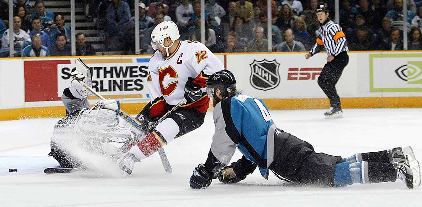 A 52-goal scorer and Art Ross Trophy-winner in 2001-02, Iginla led his upstart Flames, who hadn't reached the playoffs for seven years, to within one win of the Stanley Cup the season before the lockout, winning his second Rocket Richard Trophy In the process. Now 37, the veteran forward remains one of the game's most respected players. He scored 30 goals for Boston in 2013-14 and his career NHL numbers—560 goals, 607 assists in 1,310 games and counting—will surely land him in the Hall-of-Fame.