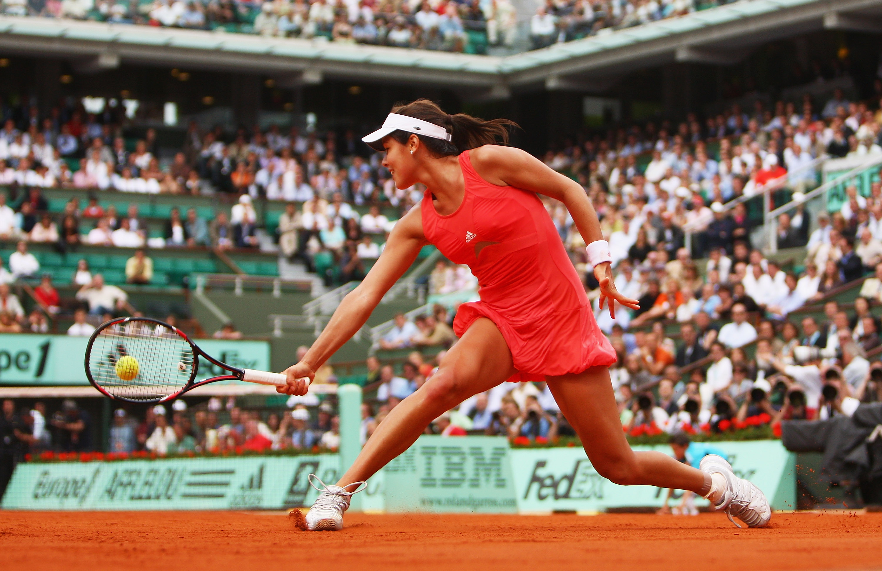 The iconic coral bubble dress launched a champion. Ivanovic won her maiden title at the French Open and took over the No. 1 ranking.