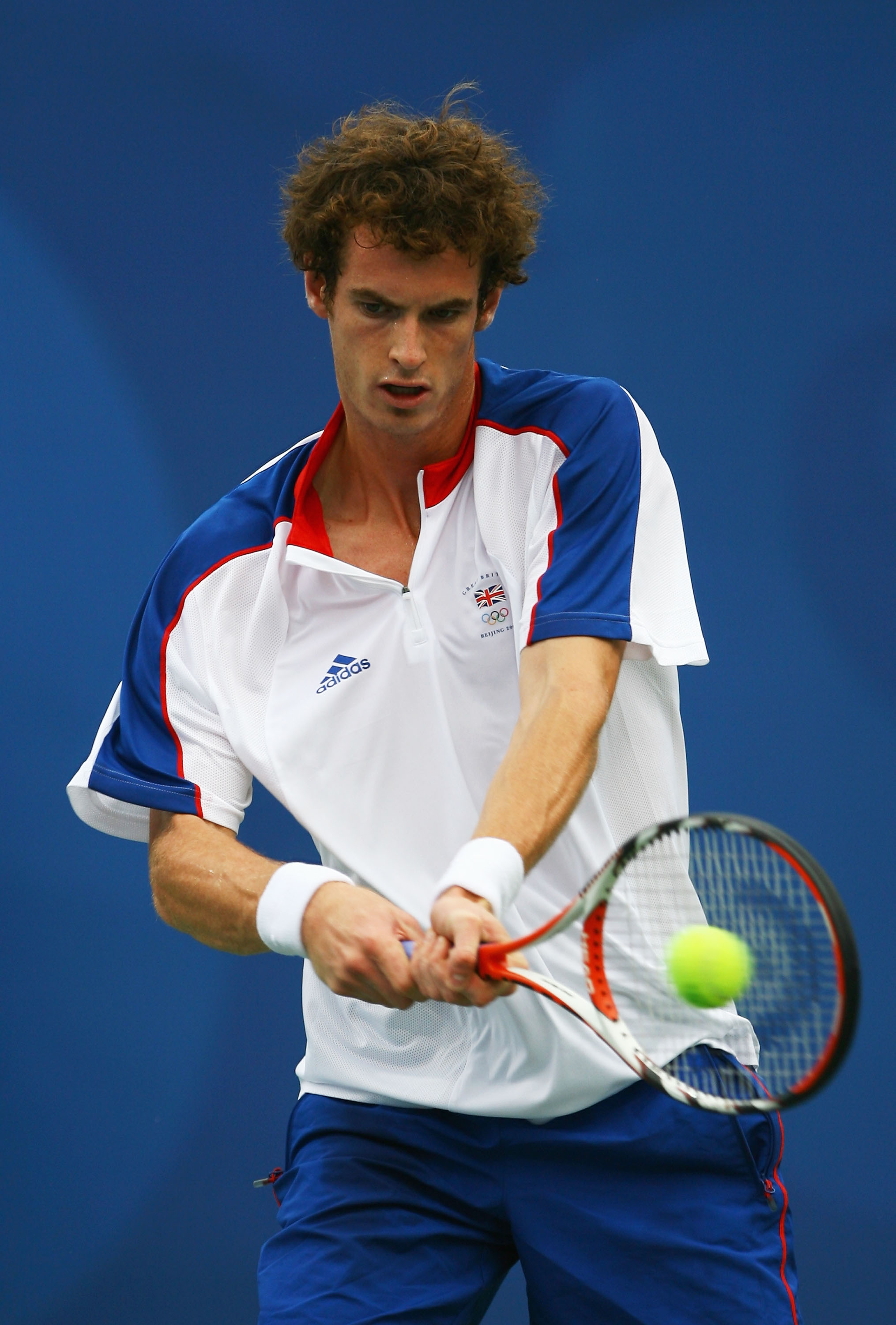 Murray lasted just one round at the Beijing Olympics.