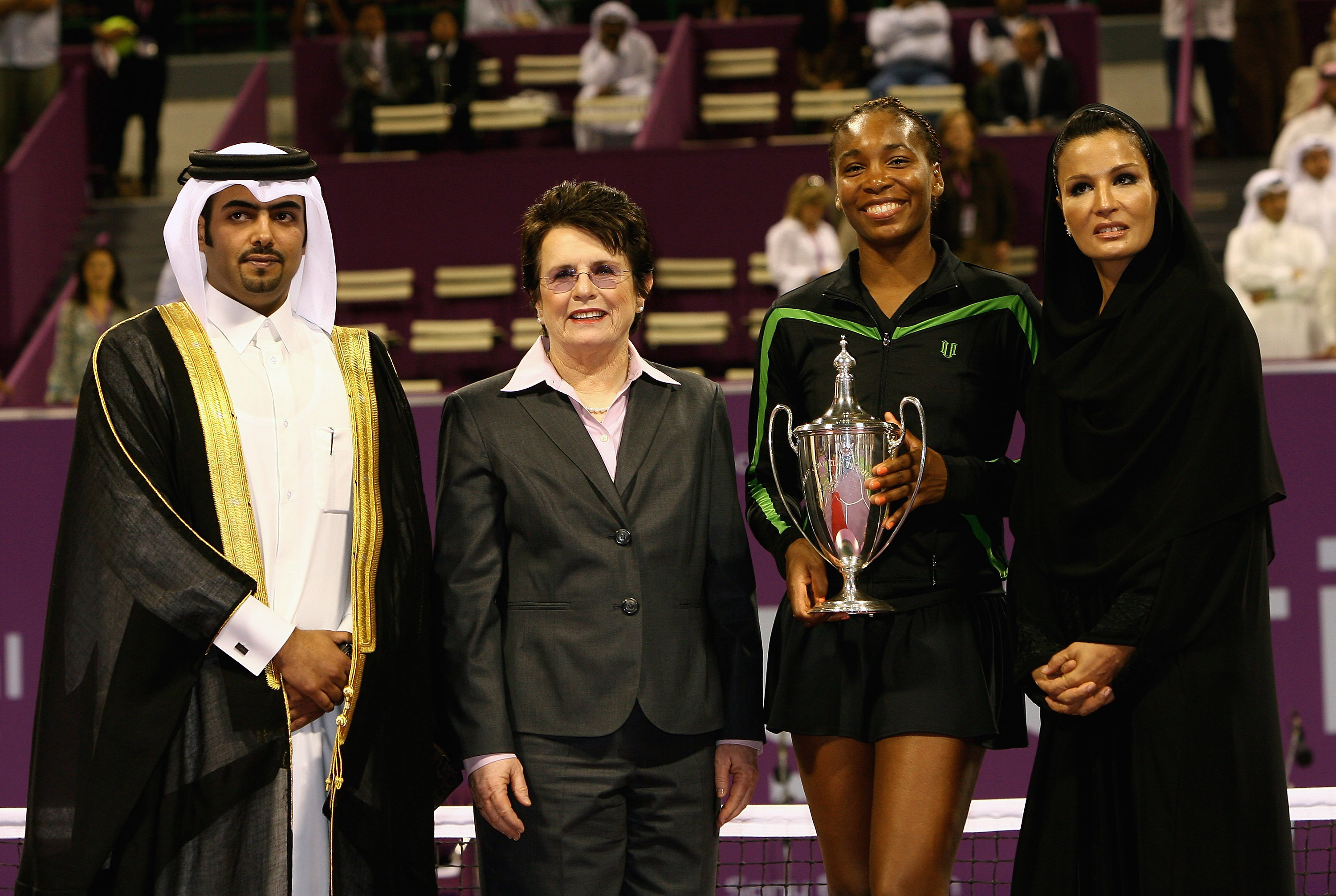 It was Venus Williams' first year-end title.