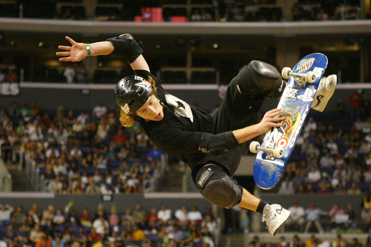 Silver Medalist Shaun White at the ESPN X Games 11 during the Men's Skateboard Vert Finals on Friday, August 5, 2005.