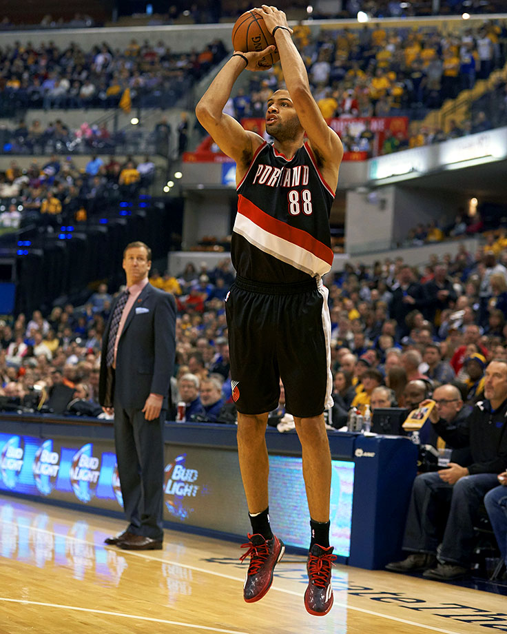 Batum, a late first-round pick, was traded to Portland from Houston for the rights to Darrell Arthur and Joey Dorsey on draft day 2008. His career's been solid, with a well-rounded game and good size and ball skills. But 2012-13 was a highlight year for Batum, when he averaged 14.3 points, 5.6 rebounds and 4.9 assists. The Frenchman was traded to Charlotte in the off-season and will start fresh as a Hornet this fall. — Runner-up: Antoine Walker