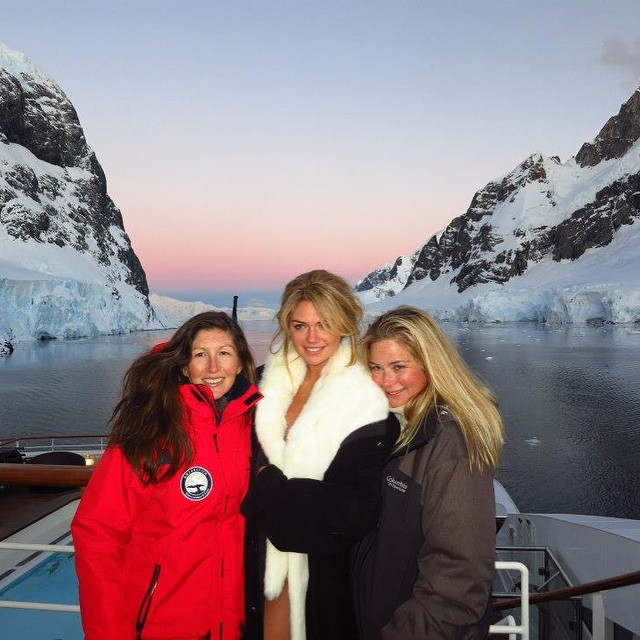 #tbt that time we spent 10 days at sea to cross the most dangerous body of water, the drake passage, to get to ANTARCTICA to shoot this beaut of a human being. #thisishowyoudoit #siswim #adventure #weflyhigh #theseventhcontinent
