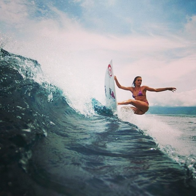 ASP World Tour surfer Alana Blanchard has been rivaling Mother Nature for over a decade. Starting with the NSSA Regionals and HASA State Championships, Blanchard has since won gold at the Billabong Pro, the Roxy Pro Trials and at the Volcom Pufferfish Surf Series. Step into Alana's world and get a taste of what it's like to be both a professional surfer and a sensational bikini model. Follow her on Instagram @alanarblanchard to stay up-to-date with everything Alana.