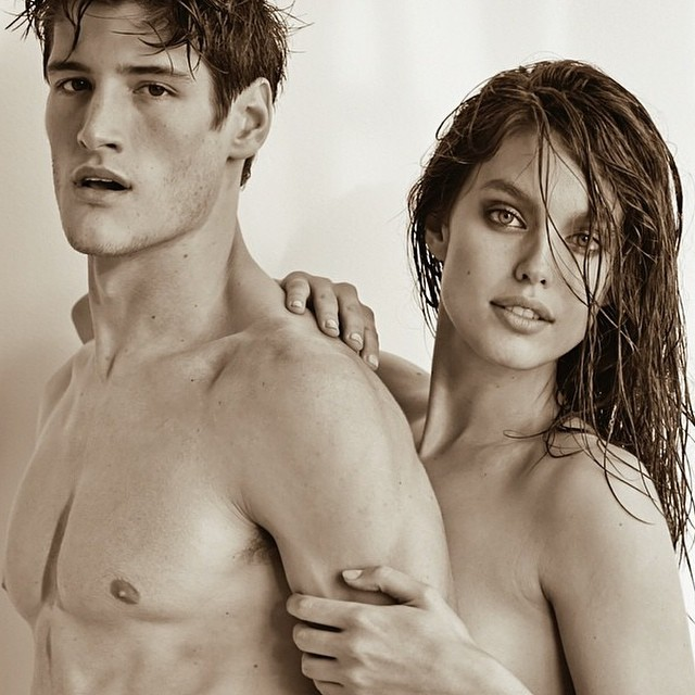 It's a studly Tuesday morning with #FordMen's @RyanTift shot by @TeamVivanco with @emilydidonato1! #regram #fordmodels