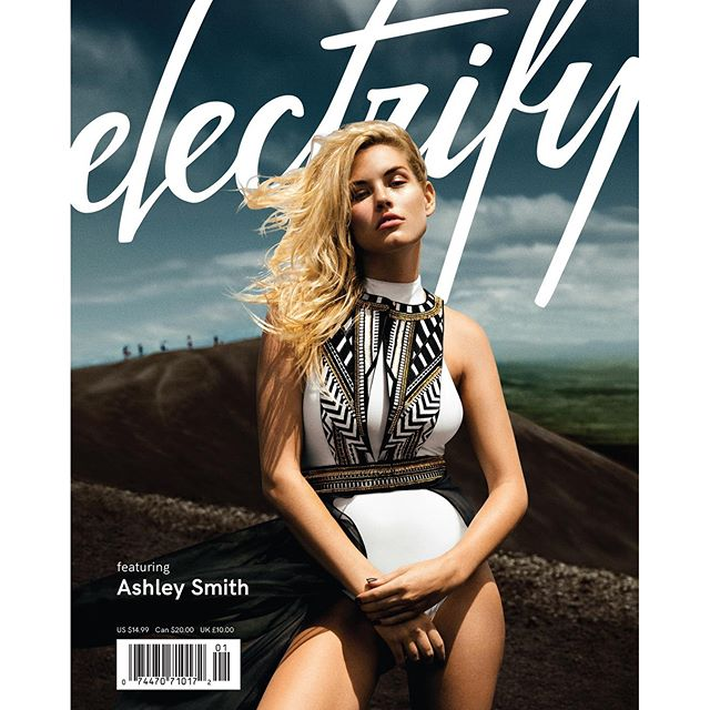 So very very excited about my cover for @electrifymag shot by @chrisdemairo on top of #cerronegro #volcano for #ElectrifyVol1
