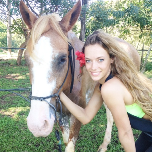 #throwback #CostaRica #girlstrip #horsebackriding #tbt