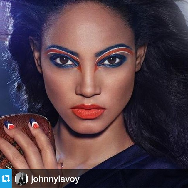 #Repost from @johnnylavoy with @repostapp @1arielmeredith you Betta werk that #covergirl #model #hottness #supermodel #makeup