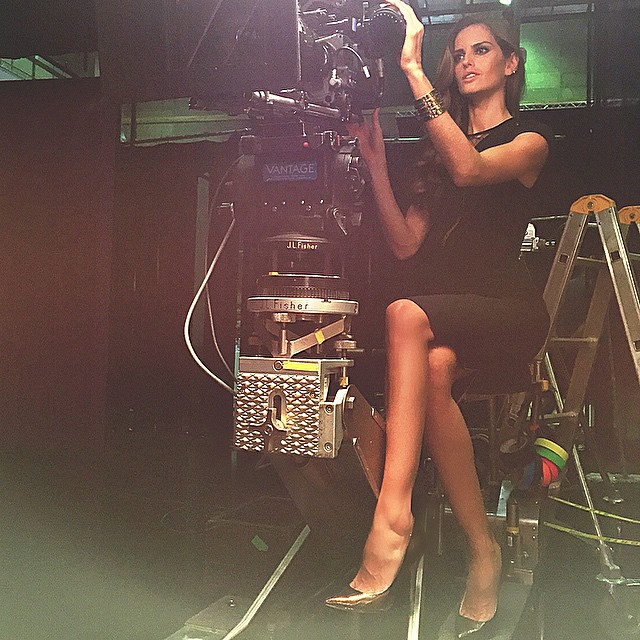 Day 2! Behind the camera! Director of the day... Iza goulart! Haha #prague #atwork #havingfun #lights #camera #action #izagoularttakeover #comingsoon