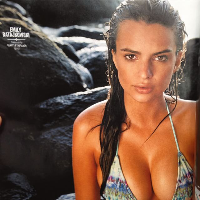 FIRST LOOK AT MY @si_swimsuit SHOOT! Grab a copy of #siswim and come to Herald Square to meet me and the rest of the lovely ladies! I was shot by the wonderful @yutsai88 hair by @jrugg8 by @allanface in Hawaii! @mj_day @darciebaum @ja_neyney time to celebrate!