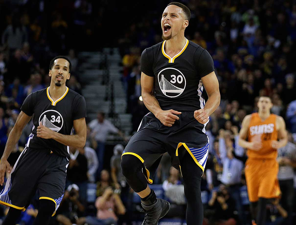 Steph Curry scored 15 of his 35 points in the fourth quarter as Golden State rallied from a nine-point deficit over the final 12 minutes to defeat 123-116.