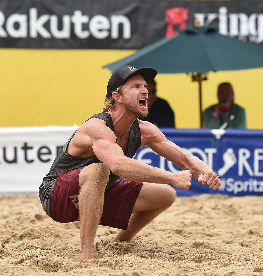 Ty Tramblie took his first AVP title.