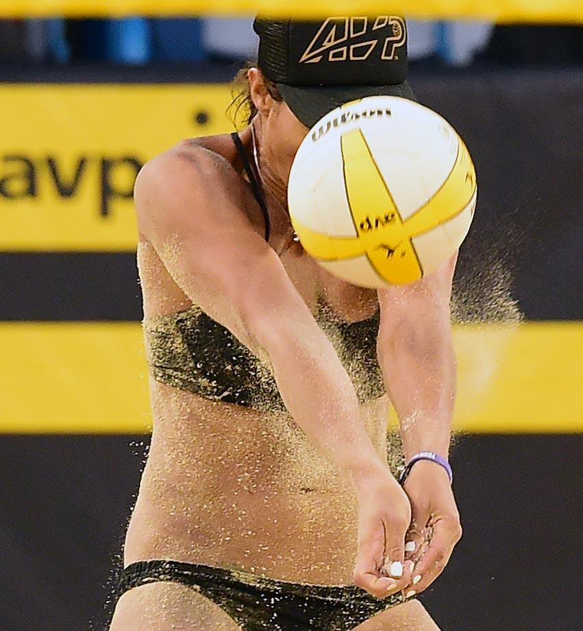 Jessica Stubinski......concentration.