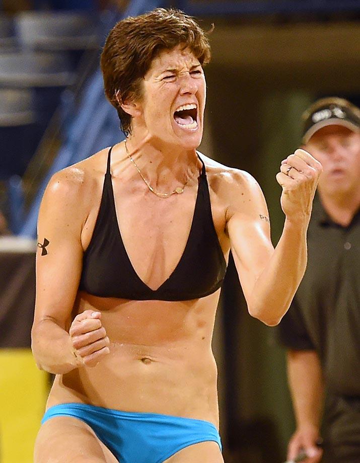 Last week's winner, Nicole Branagh, finished fifth.