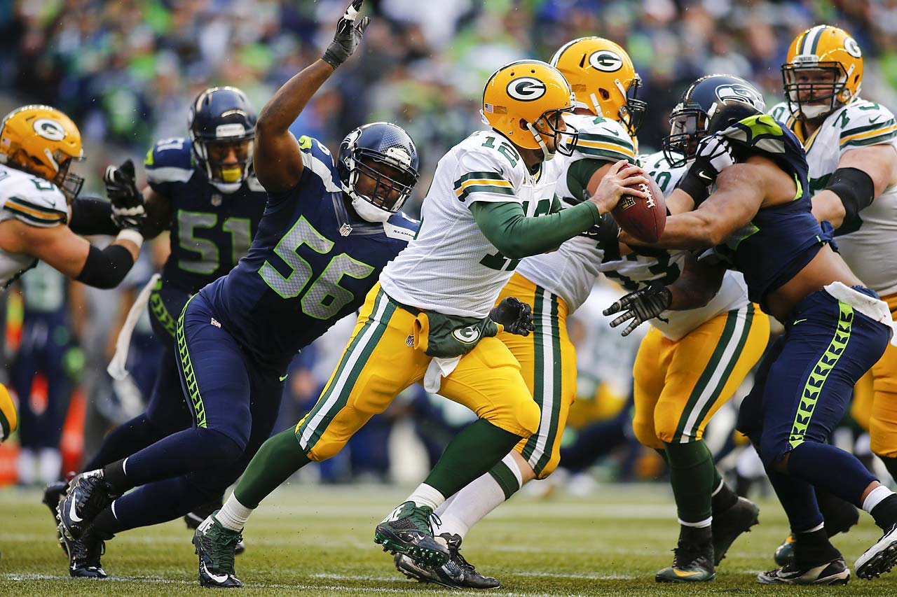 Aaron Rodgers completed 19 of 34 passes for 178 yards, one touchdown and two interceptions.