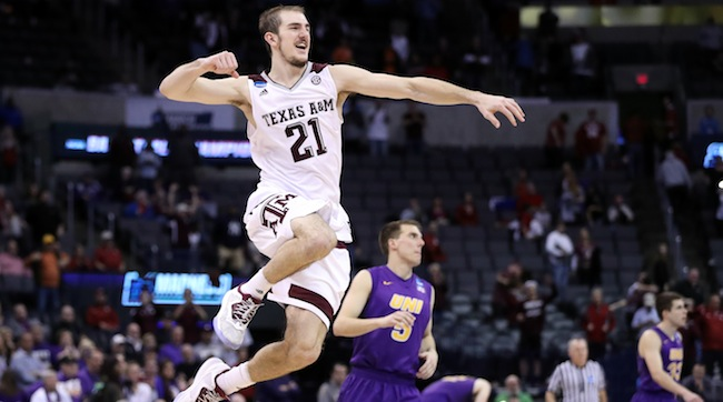 It was called the greatest comeback ever! It was the largest last-minute comeback in March Madness history! With 44 seconds to go in regulation, No. 3 seed Texas A&M was trailing 11th-seeded Northern Iowa by 12. In the final 44 seconds of regulation, the Aggies scored 14 of their 39 second-half points and forced four Panther turnovers. Texas A&M guard Danuel House scored 16 of his 22 points in those 44 seconds and in the two overtime periods. If you don't know about this comeback, FIND OUT, because this just may be the most unbelievable comeback in college hoops history, and it's hard to explain with only words.
