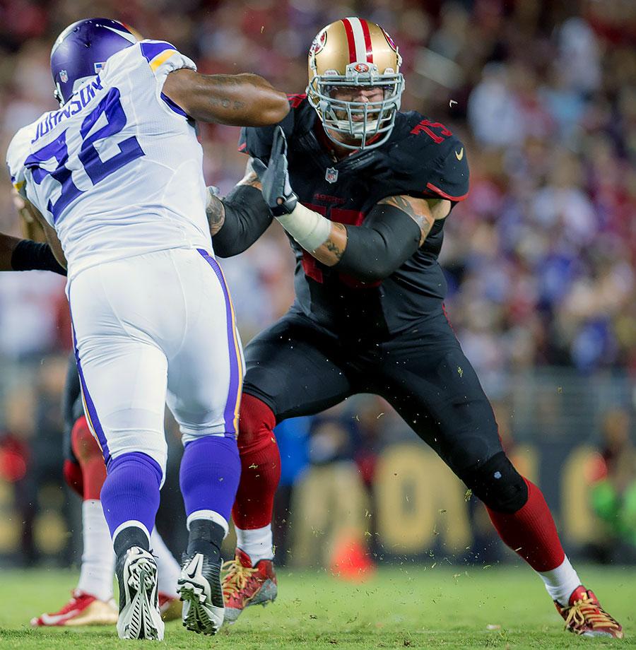 2015 Team: San Francisco 49ers — 2016 Team: Minnesota Vikings