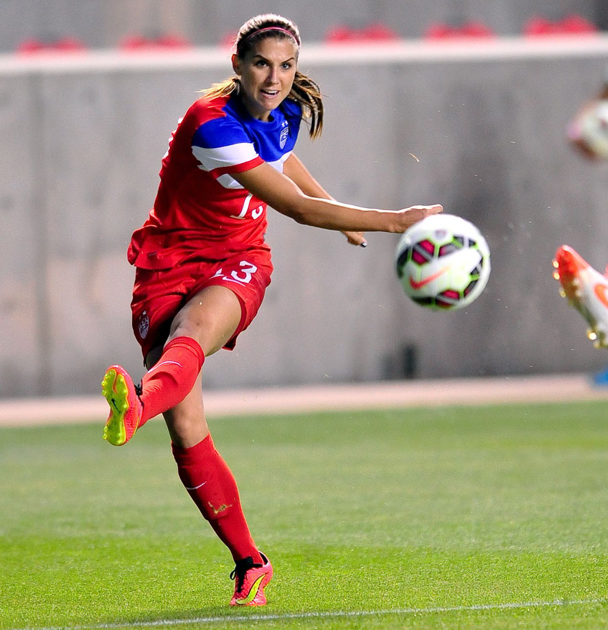 Despite an injury-addled 2014 season, Morgan remains the face of the American team and one of its biggest threats in attack. It took her over a year to start scoring again for the U.S. after an ankle injury that took a long time to heal, but she scored three goals against Mexico in the team's most recent tune-up matches before qualifiers.