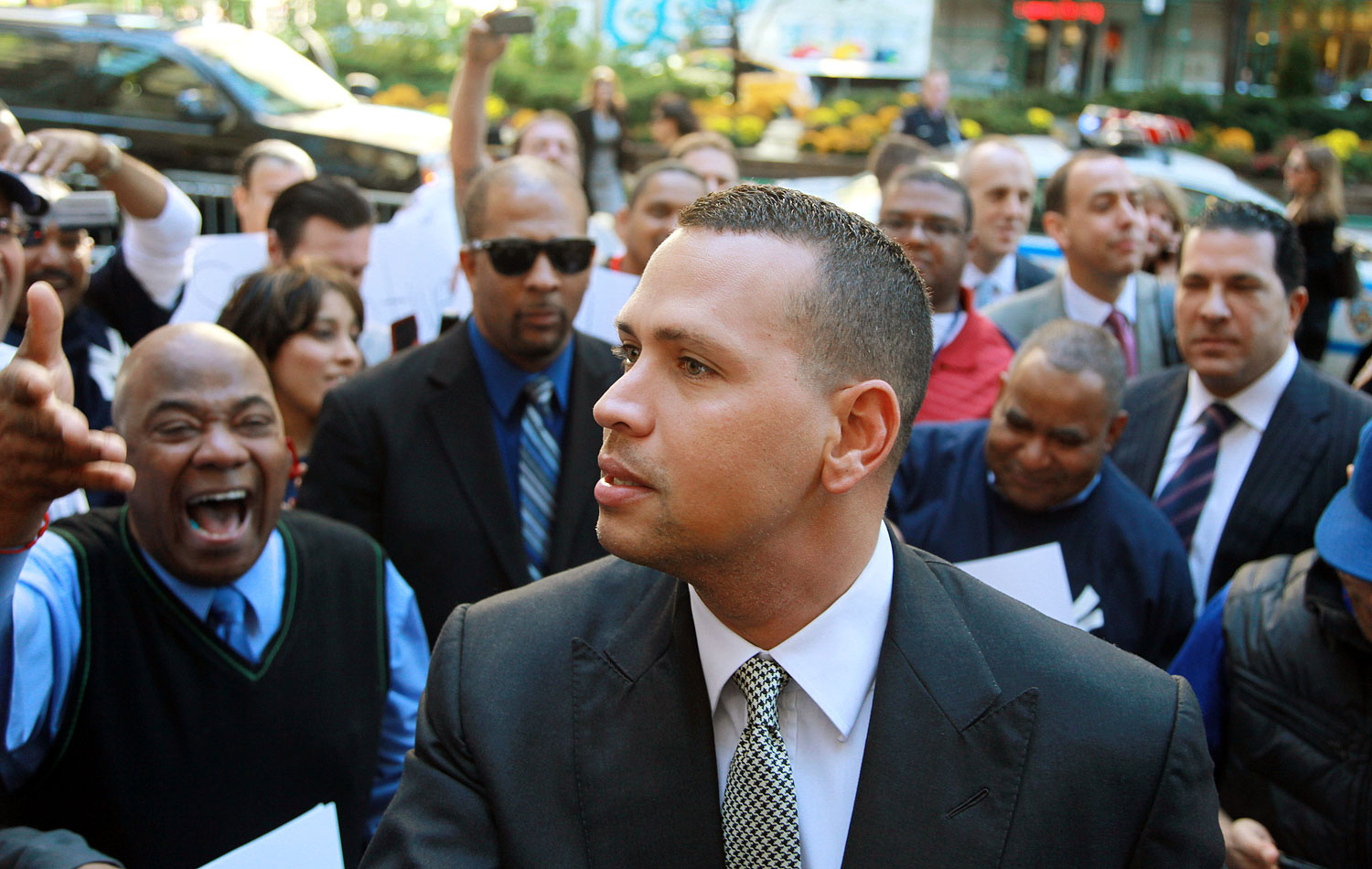 "The recipient of a record 162-game suspension (reduced by an arbitrator from the original 211) for his involvement in the Biogenesis PED scandal, A-Rod sued MLB only to withdraw the suit after complaining that, ""The number of games sadly comes as no surprise, as the deck has been stacked against me from day one."" Alas, DEA records and court filings showed that he'd confessed to using PEDs and paid his cousin/co-conspirator Yuri Sucart nearly $1 million to clam up."