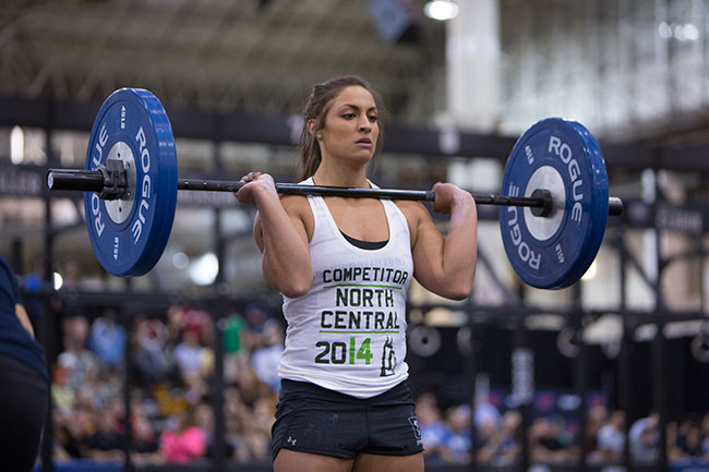 LaChance began CrossFit in January 2013 and won the North Central regionals this year. She was an All-American gymnast for the University of Arkansas for four years and does multiple workouts a day three or more days a week.