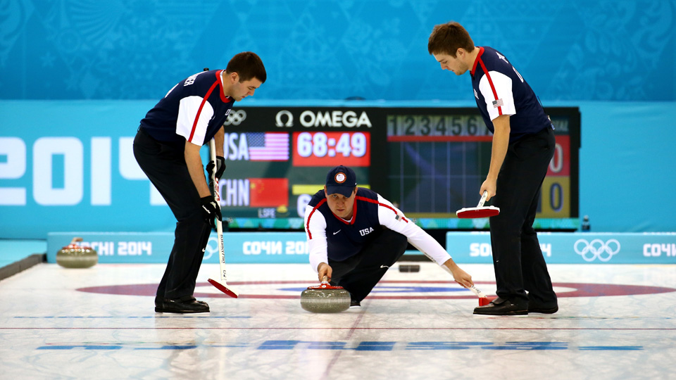 The U.S. men's curling team lost 9-4 on Tuesday to China, which found itself on top of the standings after Tuesday's competition.