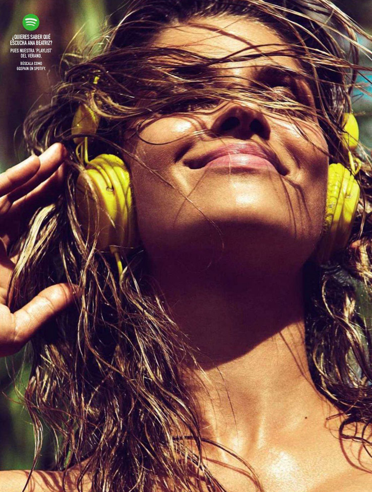 Ana Beatriz Barros for GQ Spain, July 2014 by Richard Ramos