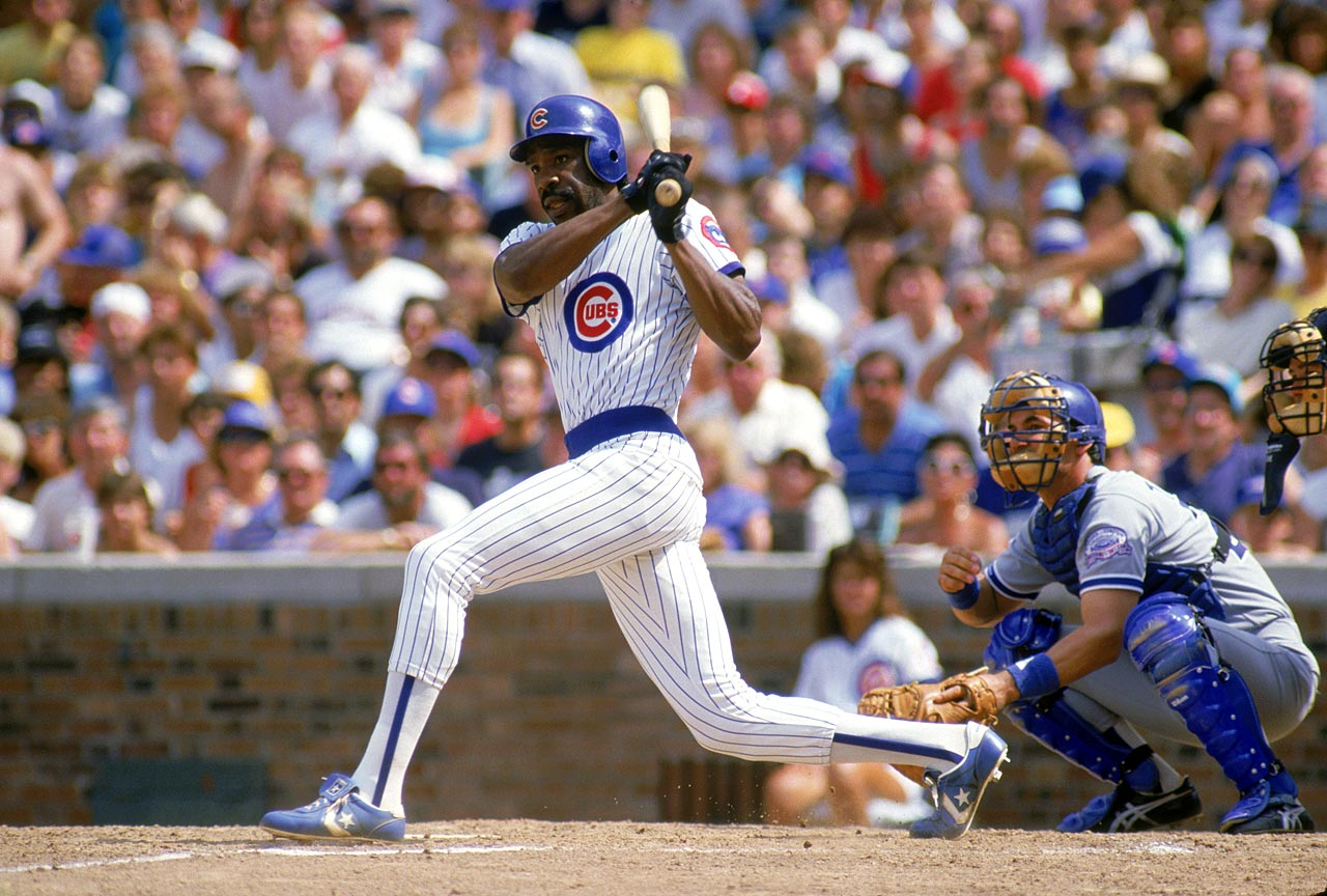 Andre Dawson, the 1987 NL MVP, had a .279 career batting average with 438 home runs and 314 stolen bases.