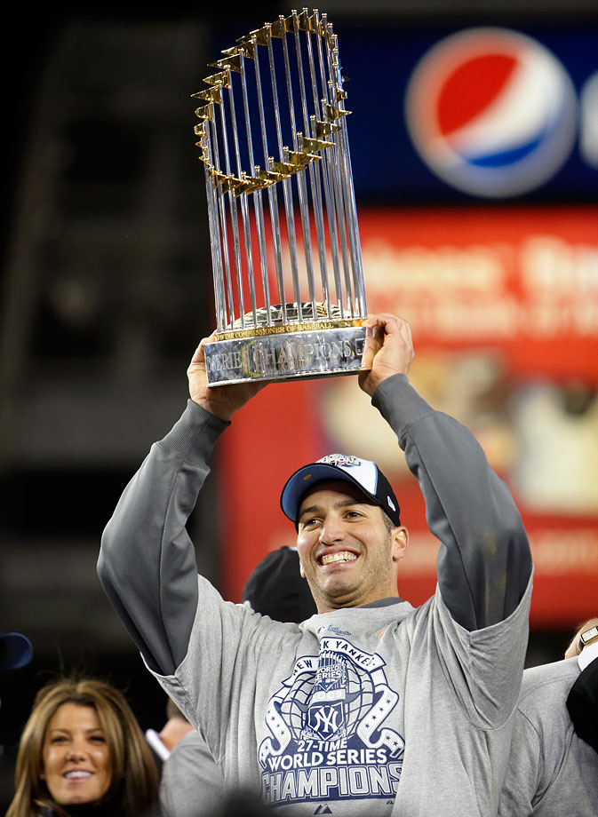 It's hard to believe that a key part of the great Yankees teams of the 1990's was found in the 22nd round of the 1990 Draft. Pettitte earned five World Series rings with New York. In 18 seasons, Pettitte compiled a 256-153 record with a 3.85 ERA and 2,448 strikeouts.