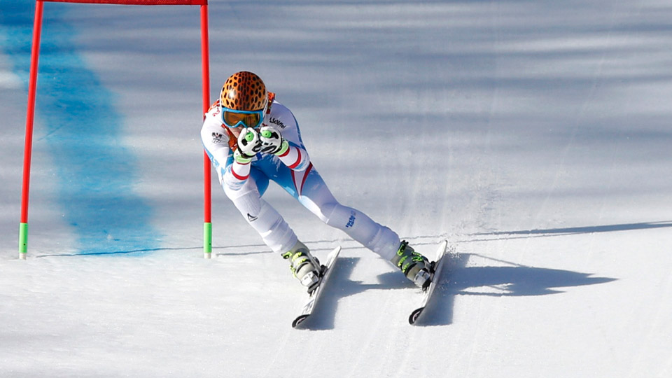 Anna Fenninger's run of 1:25.52 was more than a half-second faster than any other skier in the women's Super-G.