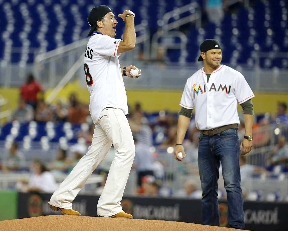 Aug. 13 at Marlins Park in Miami