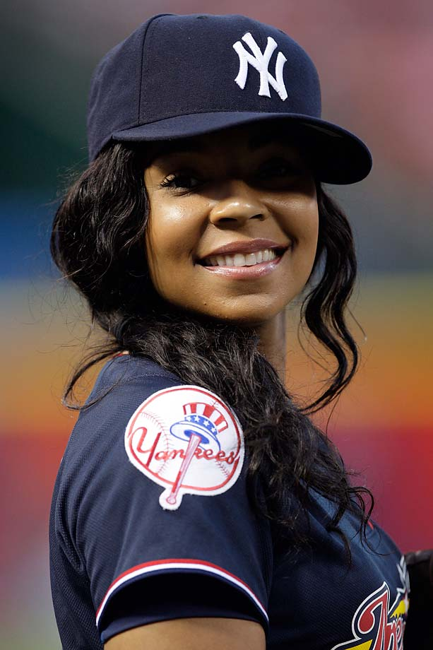 Athletes and Celebrities in Yankees Hats | SI.com  Athletes and Ce...