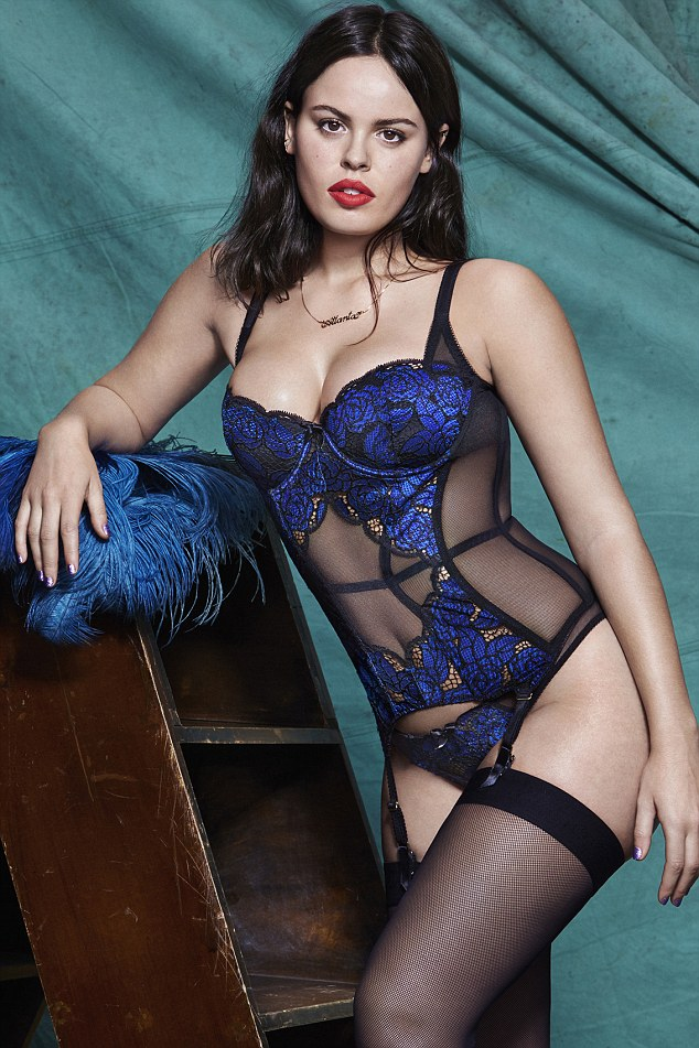 Atlanta de Cadenet :: Courtesy of Agent Provocateur