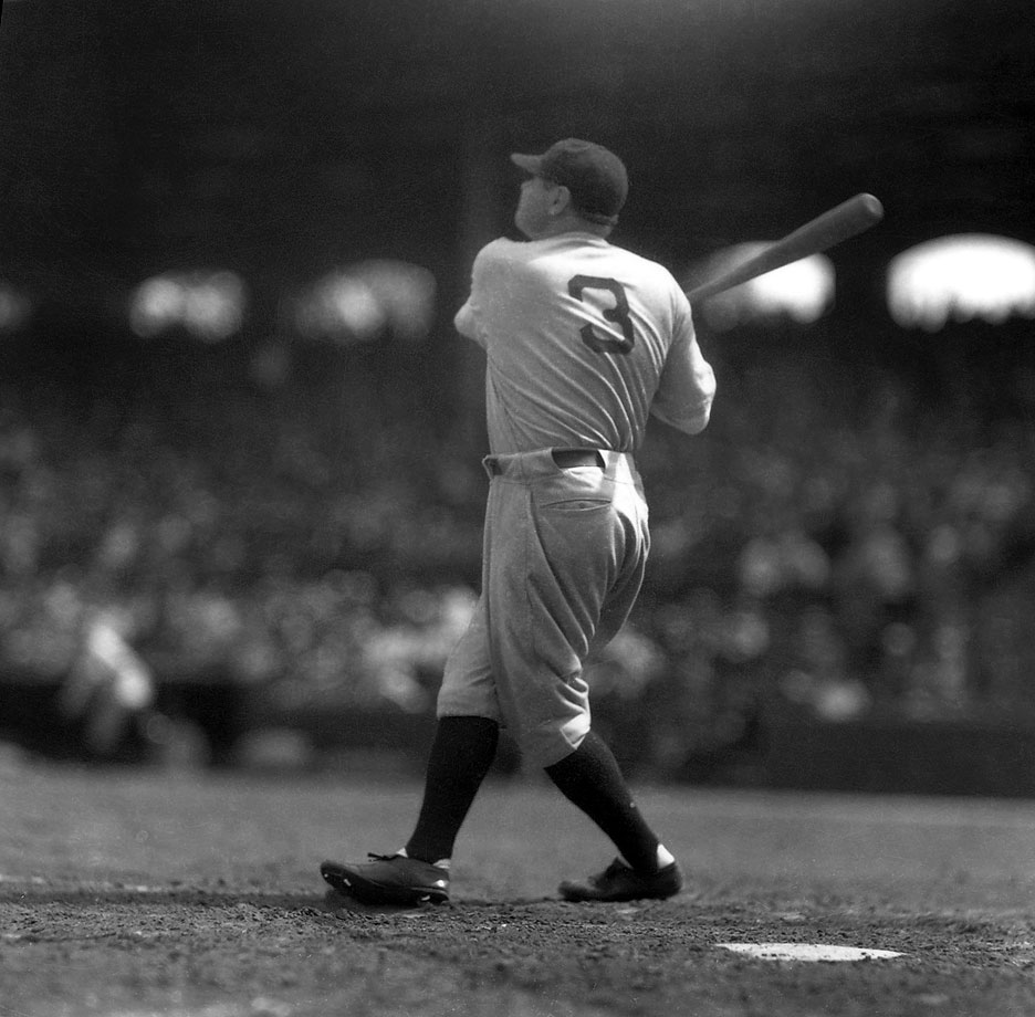 Is he the greatest baseball player who ever lived? One thing's for sure: The Great Bambino was a lefty.