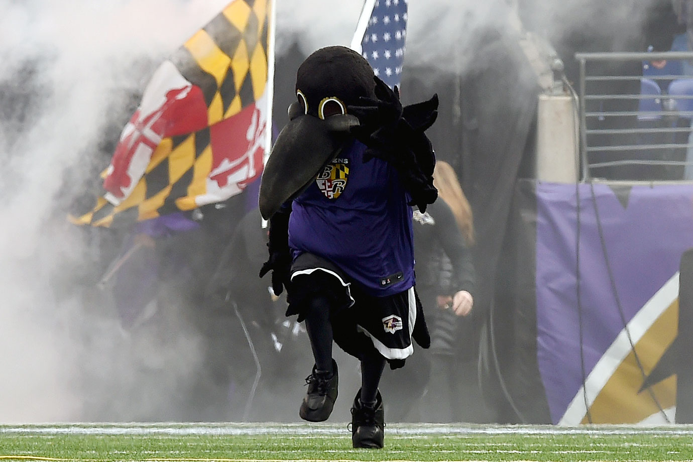 What is the baltimore ravens mascot name - You Ever Get The Feeling A City Is Overcompensating For Something When It Continually Reminds You