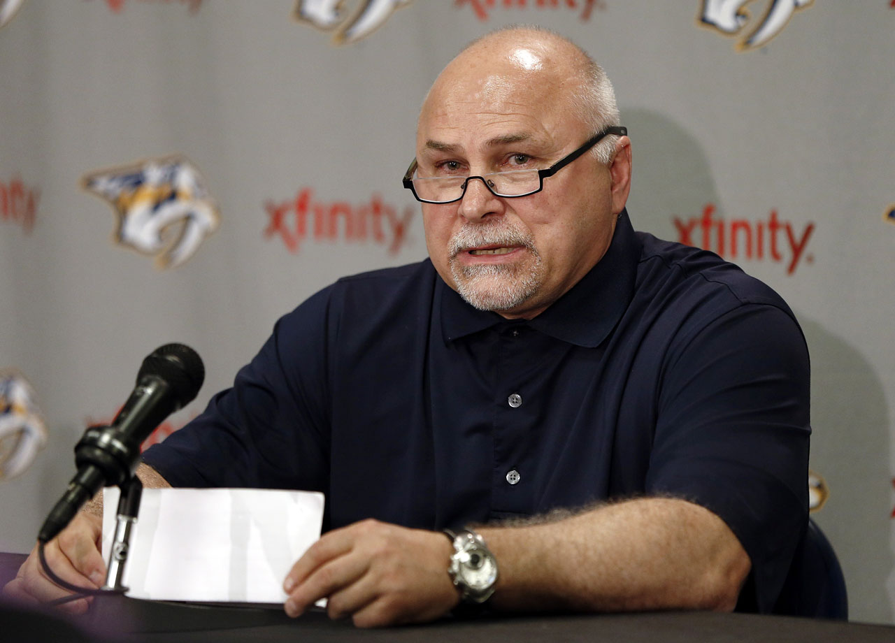 Barry Trotz, the only head coach in the Predators' franchise history, was fired on April 14 after 15 seasons.  Hired before Nashville's inaugural season in 1998, Trotz led the team to the playoffs seven times, advancing beyond the first round in 2011 and 2012.  The Predators went 38-32-12 in 2013-14 and finished in sixth place in the Central Division, missing the playoffs for the second consecutive year.