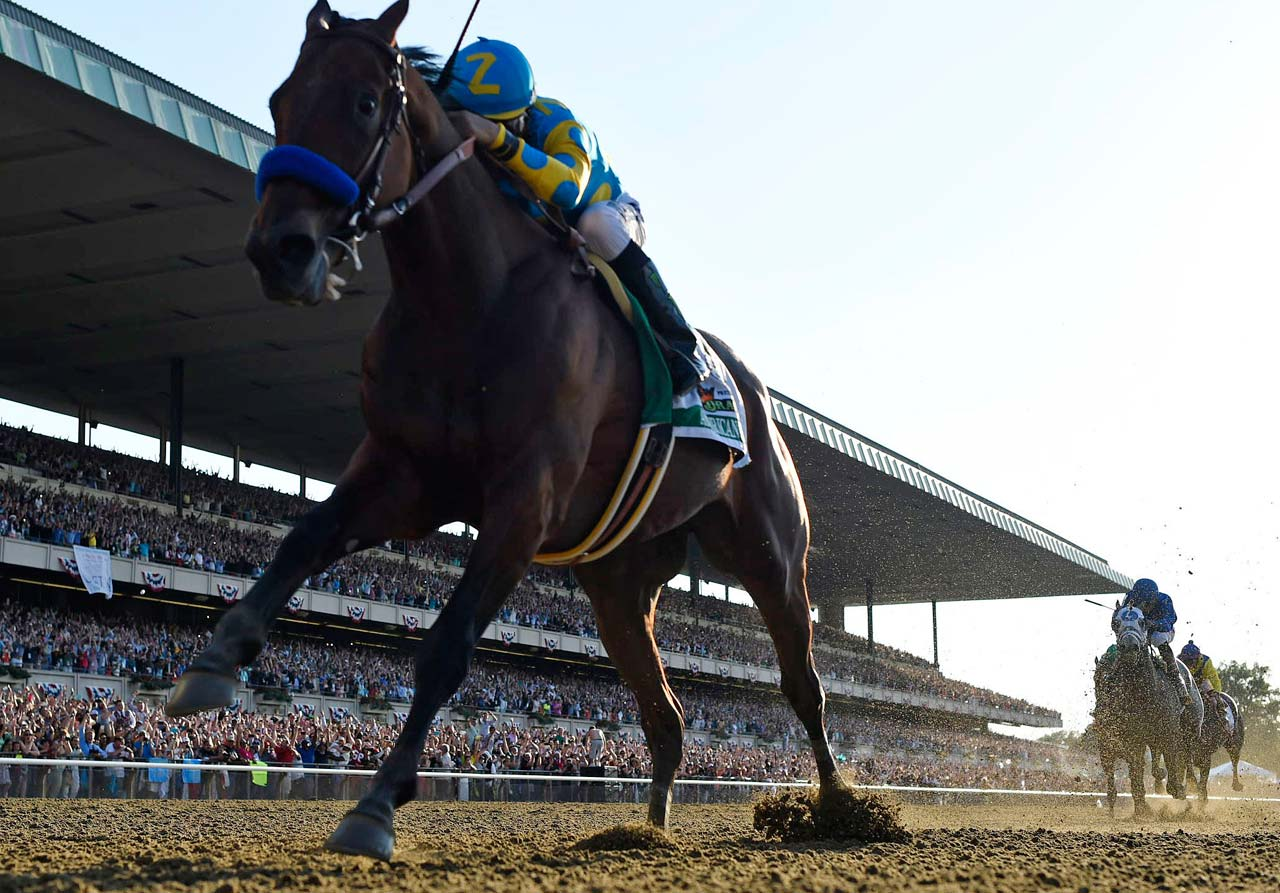 American Pharoah delivered a victory for the Egyptian-born Zayat, who bred the colt and put him up for sale before buying him back for $300,000.  (Text credit: AP)