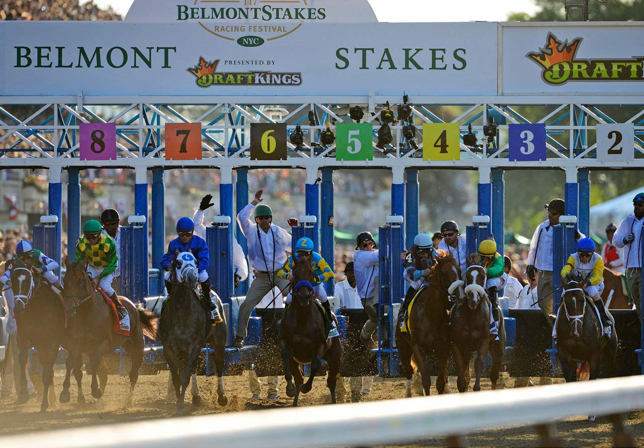 As the horses were heading to the starting gate, owner Ahmed Zayat was overflowing with confidence and turned to his wife. ''I told her, `Get ready to be the owner of the 12th Triple Crown winner,''' he said. (Text credit: AP)