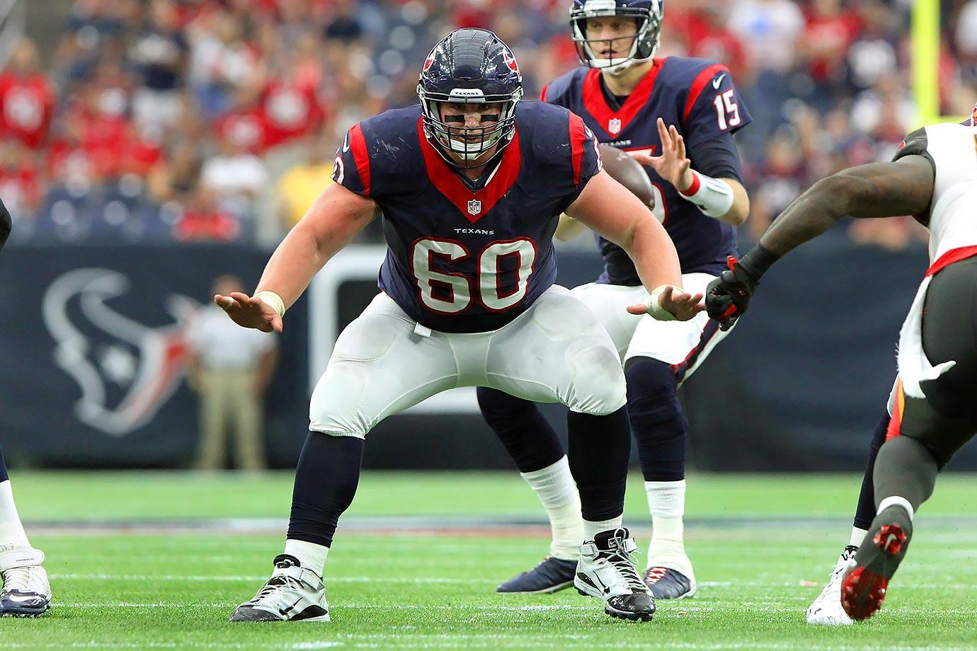 2015 Team: Houston Texans — 2016 Team: Tennessee Titans