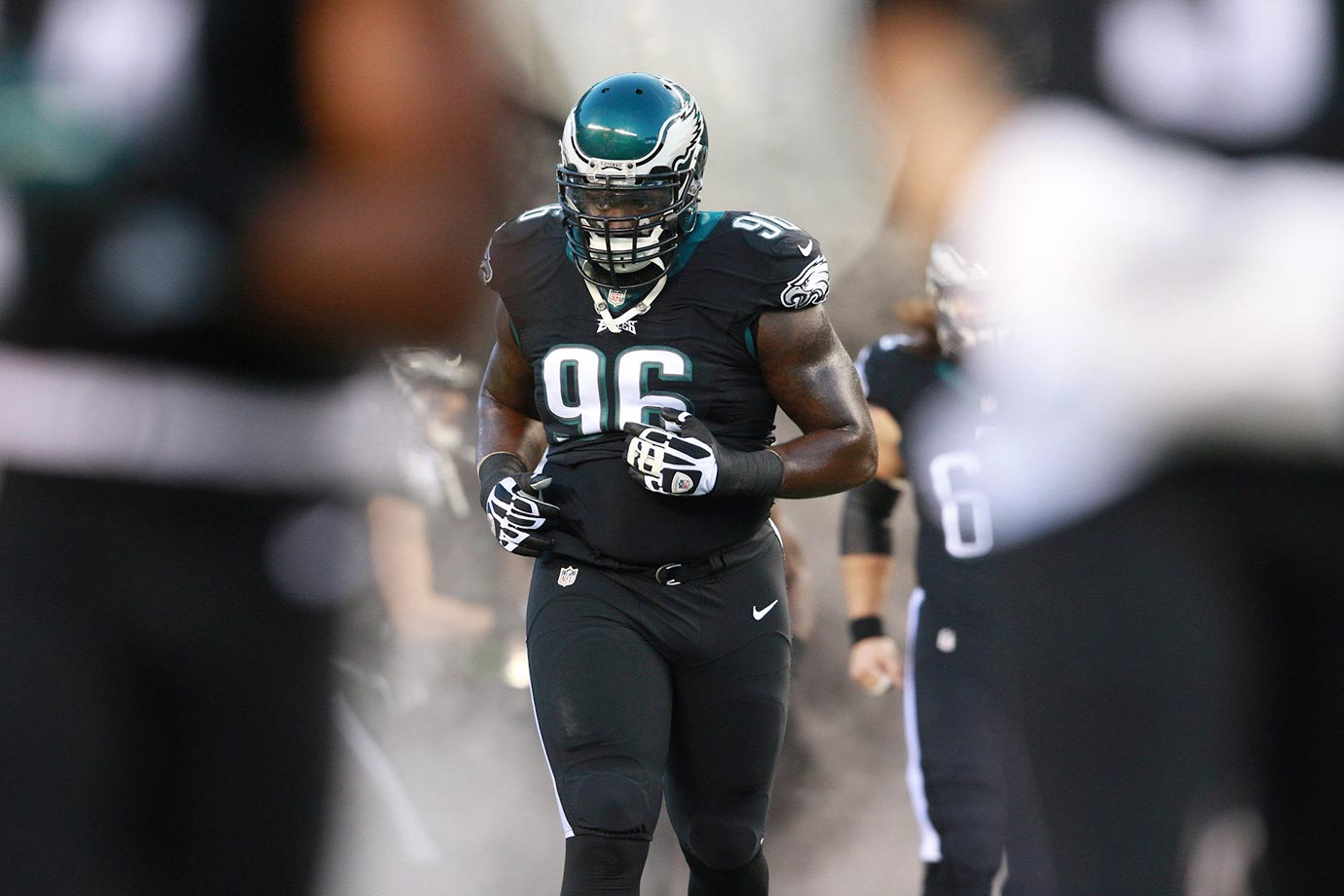 The Philly front seven is full of talent, but Logan is the nose tackle who makes it all go. No defensive tackle had more solo tackles last season than his 44, and he led the NFL in run stops at tackle with 33.