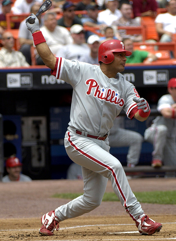Abreu played 18 seasons, which included stints with the Houston Astros, Philadelphia Phillies, New York Yankees, Los Angeles Angels, Los Angeles Dodgers and New York Mets. In 2,423 career games, Abreu posted a .291 average, .395 OBP, 2,469 hits 288 home runs, 1,363 RBI and 400 stolen bases. He was named an All-Star in 2004 and 2005.