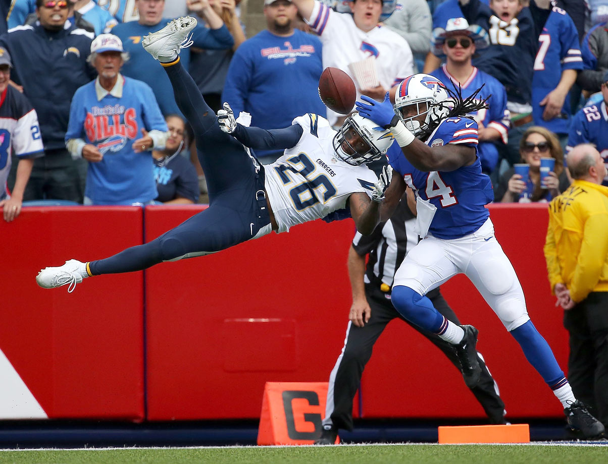 Teams always look for top-tier cornerbacks, and Flowers showed he can be that after a strong season with Chargers on one-year deal. Some might be scared off because he was released by Chiefs, and he's small at 5-10, but Flowers can play.