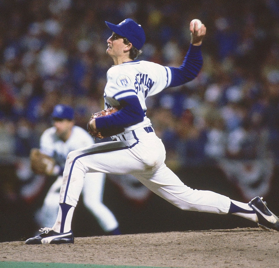 Just three years after Bret Saberhagen was drafted by the Royals, he won the AL Cy Young Award. And four years after that, he won another. A three-time All Star, Sabes retired in 2001 with a 167-117 record.