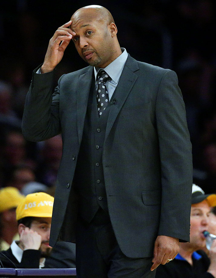 You you know you can get fired quickly? Get caught counting down the days to the end of the season while head of the most depressing team in the NBA. Bye bye Brian Shaw, we won't miss you.